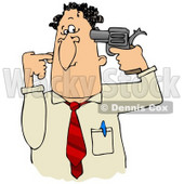32387-clipart-illustration-of-a-frustrated-or-depressed-businessman-holding-a-gun-to-his-head-by-dennis-cox-at-wackystock