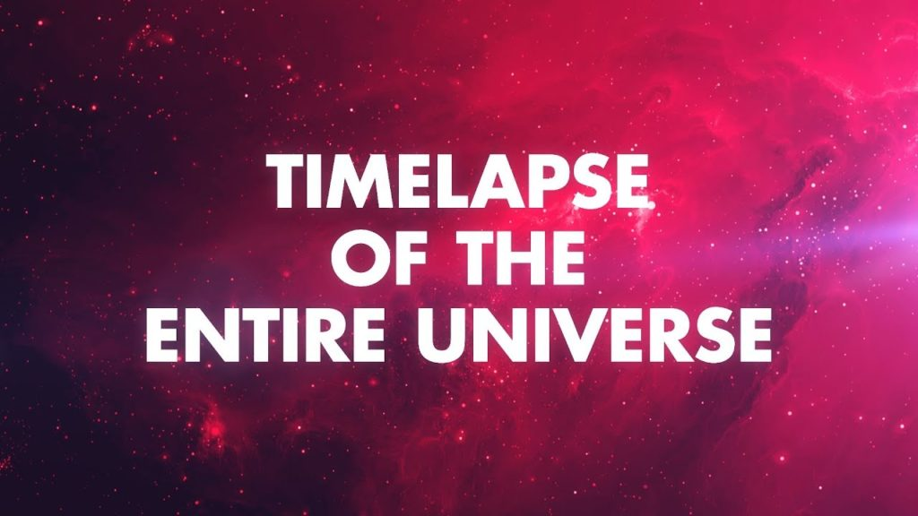 Timelapse of the Universe